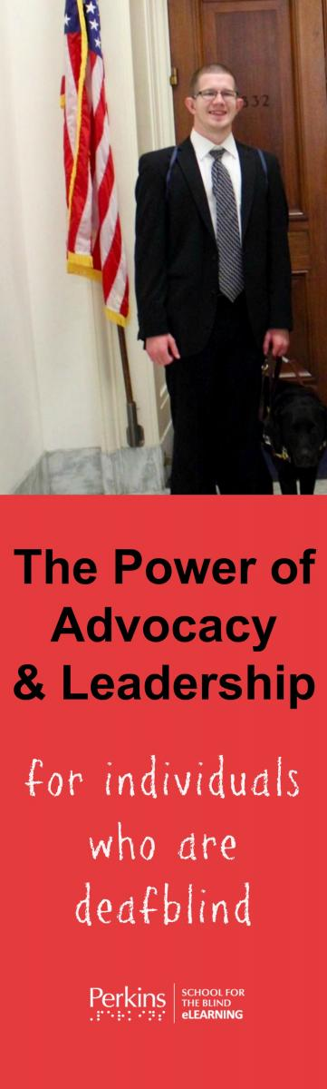 Pinterest collage of leadership and advocacy