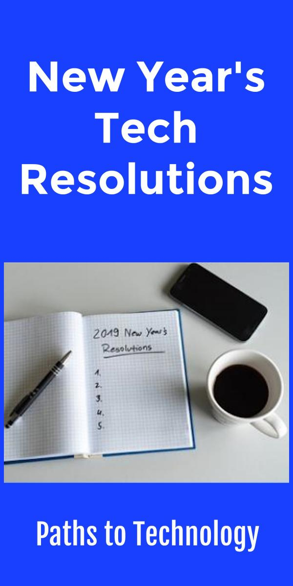 Collage of New Year's resolution