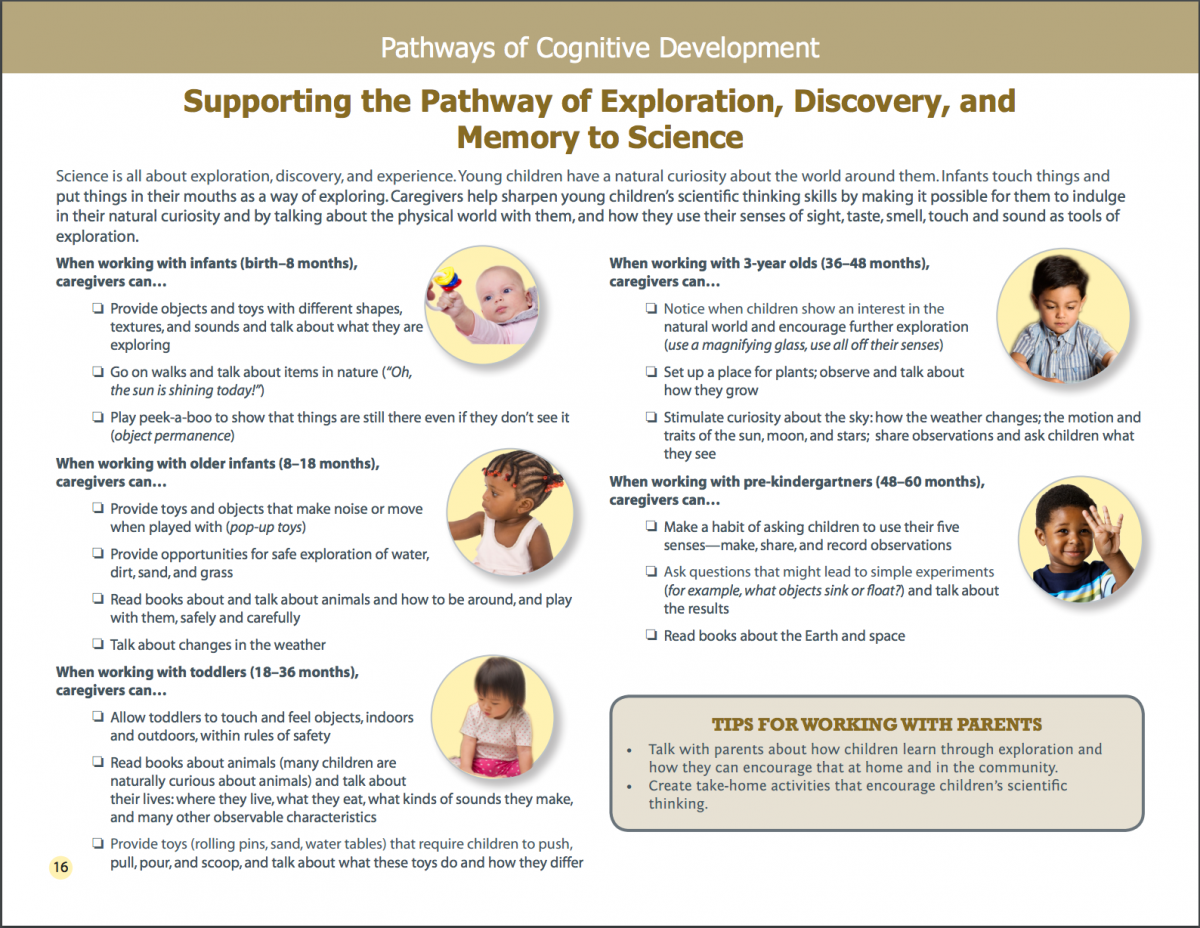Screenshot of Supporting the Pathway of Exploration, Discovery, and Memory to Science