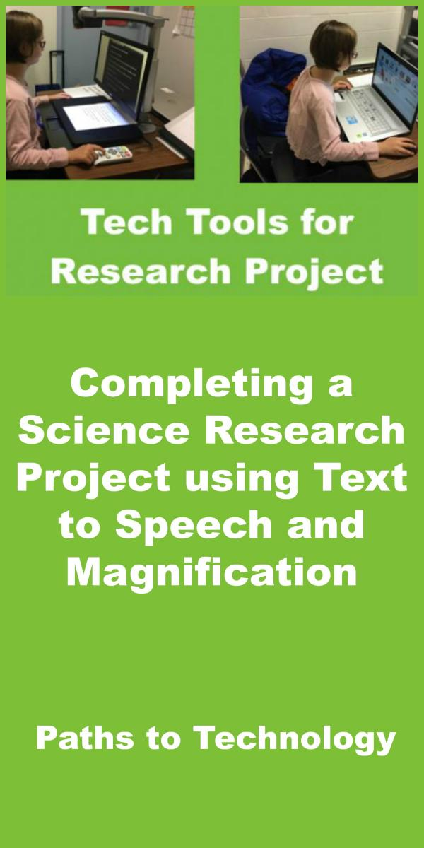Collage of Science Research Project