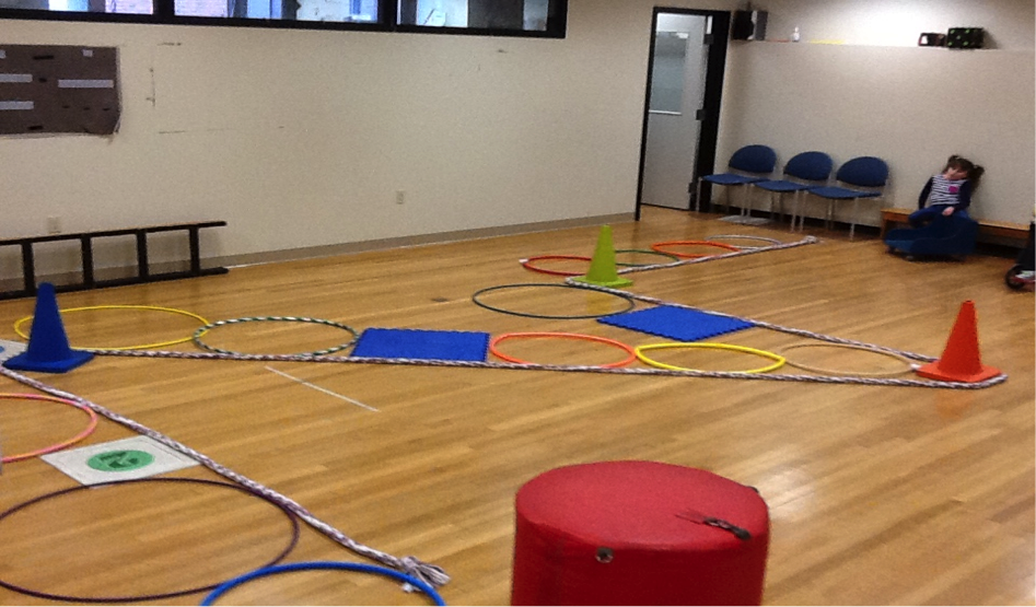 Set up of shoots and ladders game