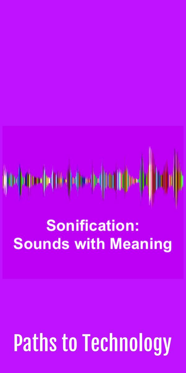 Collage of sonification