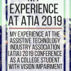My Experience at ATIA 2019. www.veroniiiica.com