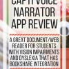 Capti Voice Narrator App Review. www.veroniiiica.com
