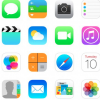 Image of Home screen with favorite apps