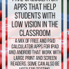 5 Calculator apps that help students with low vision in the classroom. www.veroniiiica.com