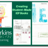 creating student-made IEP book