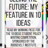 Seeing the future: my feature in 10 Ideas. www.veroniiiica.com
