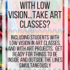 How do people with low vision take art classes? Including students with low vision in art classes. www.veroniiiica.org