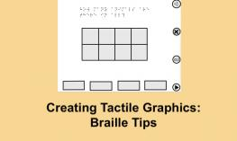 Screenshot of a print image created with GoodNotes and sim braille for a tactile graphics machine.