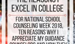 Why my guidance counselors are the reasons I excel in college. www.veroniiiica.com