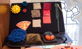 Photo showing examples of functional literacy items.