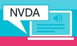 NVDA commands used to navigate and interact with a website.