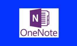 "OneNote Logo with text, ""OneNote"""