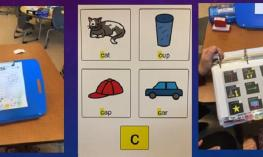 Image of tools used with children who are visually impaired