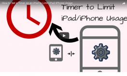 Using Password and Clock settings to limit a student's screen time.