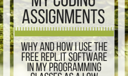 Why I use Repl.it for my coding assignments. www.veroniiiica.com