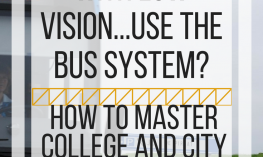 How do people with low vision use the bus system? How to  master college and city buses.  www.veroniiica.org
