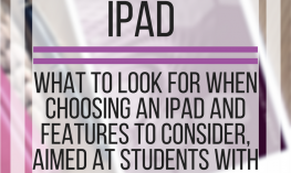 Choosing Technology: iPad.  What to look for and features to consider aimed at students with low vision. www.veroniiiica.org
