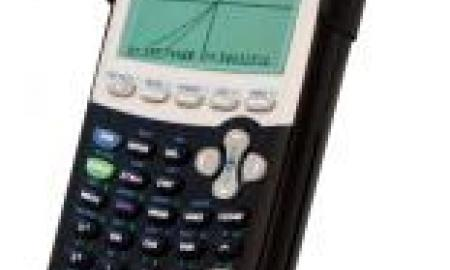 The image is of a TI - 84+