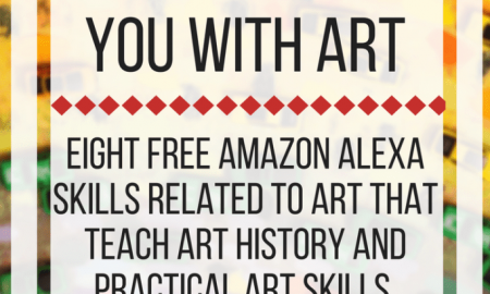 How Amazon Alexa can help you with art. www.veroniiiica.com