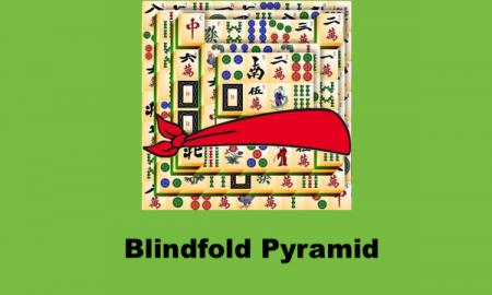 Blindfold Pyramid logo with text,'Blindfold Pyramid'