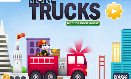 Screenshot of More Trucks HD when it is opened on the iPad.