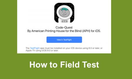 Screenshot of TestFlight email invitation to field test Beta version of CodeQuest.