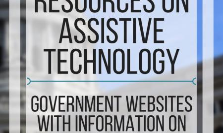 5 Government resources on assistive technology. www.veroniiiica.com