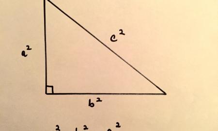 Right Triangle and The Pythagorean Theorem