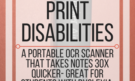 ScanMarker Air for Print Disabilities: A portable OCR scanner. www.veroniiiica.com