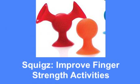 Photo of silicone suction cup toys: bright red with 3 suction cups and orange with one suction cup and bulb.