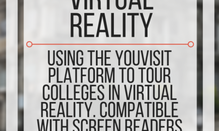 Touring Colleges with Virtual Reality.www.veroniiiica.com