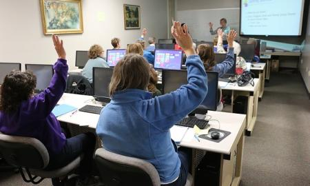 Train your general education teachers how to create accessible Word documents and PowerPoint Presentations.