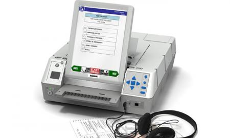 AutoMARK ballot marking machine