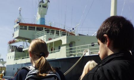 students by steamships