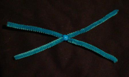 This is a model of a chromosome.