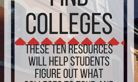How to find colleges: 10 resources will help students figure out what colleges to tour & apply to. www.veroniiiica.com