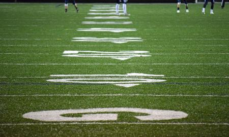 measurements on a football field