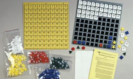 Materials for teaching integers