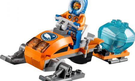 Lego Arctic Snowmobile set