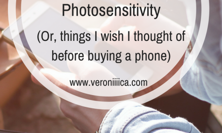 How to choose a new phone when you have photosensitivity: things I wish I thought of before buying a phone.