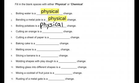 screenshot of SnapType Pro app filling in blanks of science worksheet