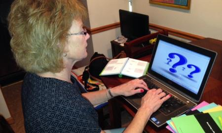 Parent looking for answers online