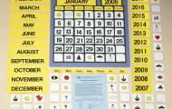 The APH Classroom Calendar Kit