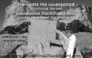 The image is of the Sensational Blackboard Mini