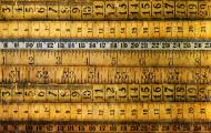Many different kinds of rulers