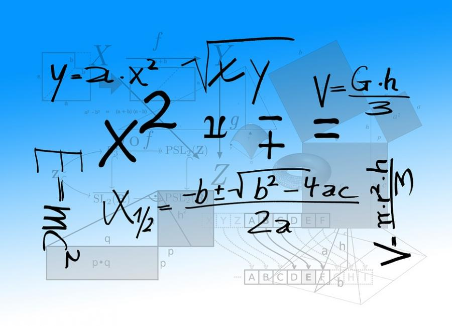 a variety of mathematical equations and functions