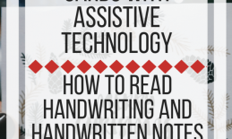 Eight Ways to Read Handwritten Cards with Assistive Technology. www.veroniiiica.com