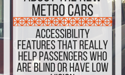 Five things that surprised me about the new metro cars. www.veroniiiica.com